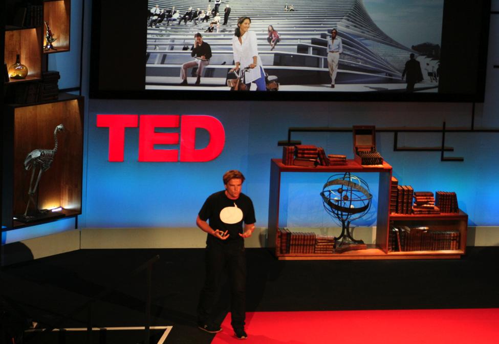Bjarke Ingels at TEDGlobal in Oxford