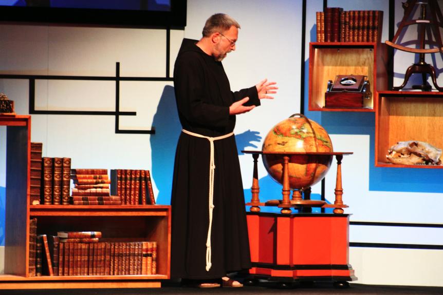 Brother Paulus Terwitte at TEDGlobal