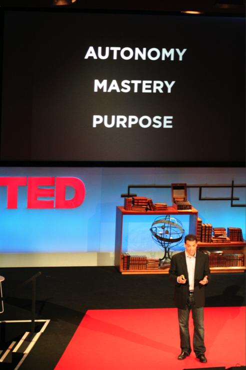 Dan Pink at TEDGlobal in Oxford