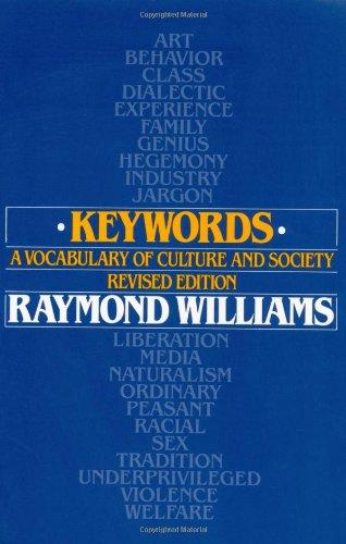 culture by raymond williams essay