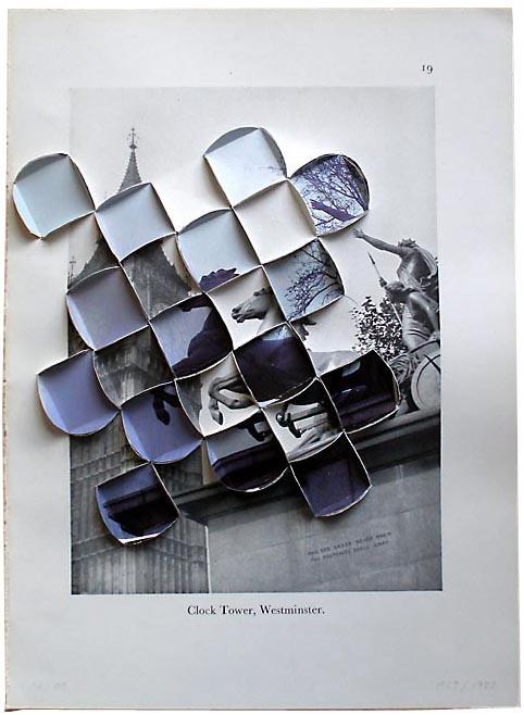 Эти коллажи делает Абигайл Рейнолдс из нескольких фотографий, которые он...