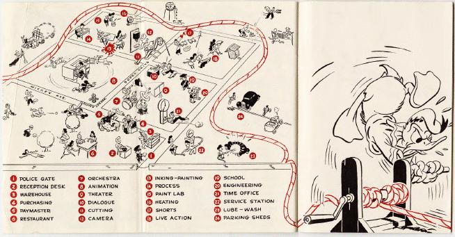 the ropes at disney  1943 walt disney employee handbook