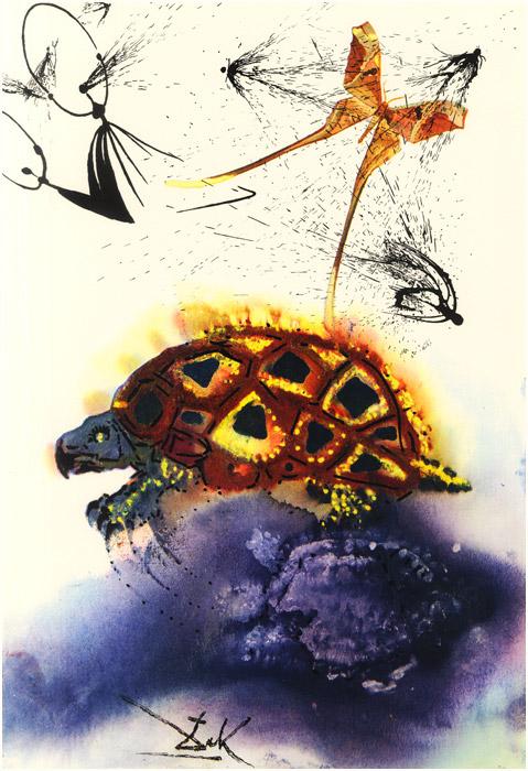 alicedali10 - Salvador Dalí's Illustrations for Alice in Wonderland - Lifestyle, Culture and Arts