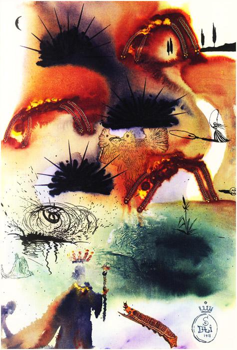alicedali11 - Salvador Dalí's Illustrations for Alice in Wonderland - Lifestyle, Culture and Arts