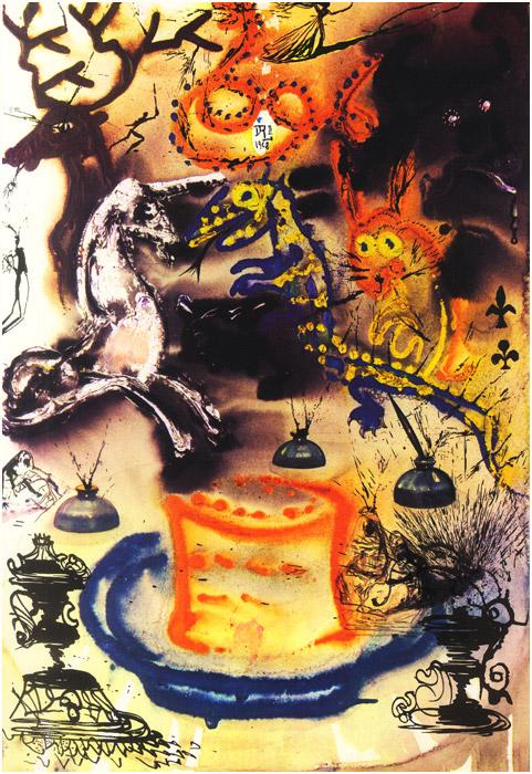 alicedali12 - Salvador Dalí's Illustrations for Alice in Wonderland - Lifestyle, Culture and Arts