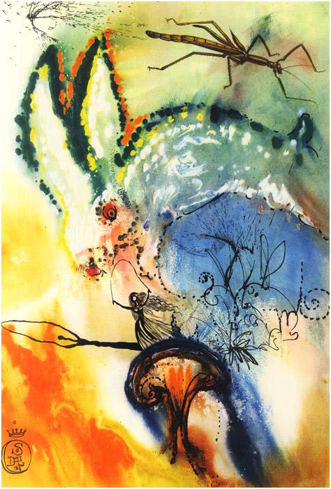 alicedali2 - Salvador Dalí's Illustrations for Alice in Wonderland - Lifestyle, Culture and Arts