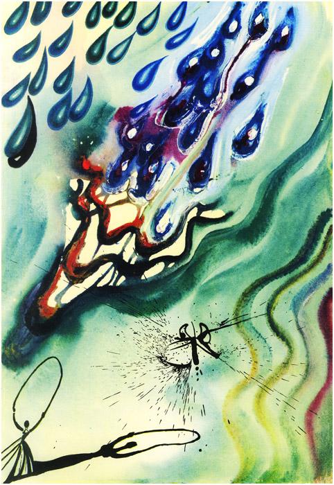 alicedali3 - Salvador Dalí's Illustrations for Alice in Wonderland - Lifestyle, Culture and Arts
