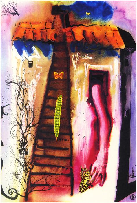 alicedali4 - Salvador Dalí's Illustrations for Alice in Wonderland - Lifestyle, Culture and Arts