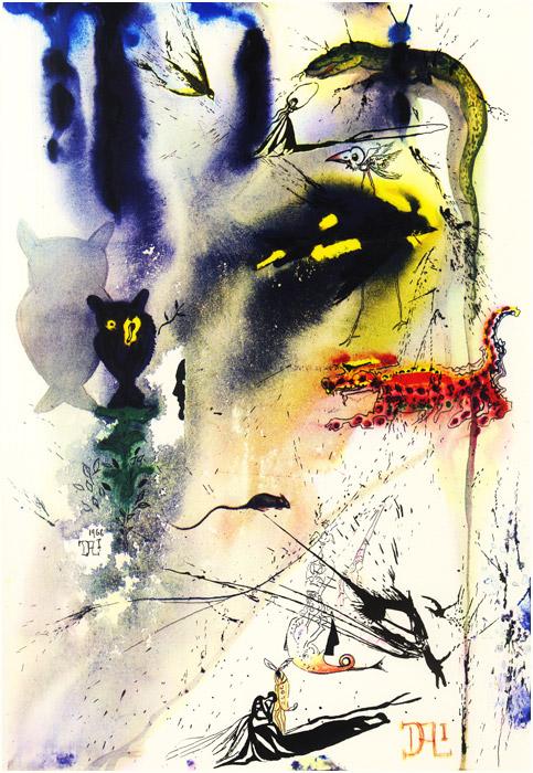 alicedali5 - Salvador Dalí's Illustrations for Alice in Wonderland - Lifestyle, Culture and Arts
