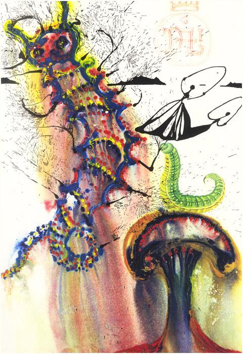 alicedali6 - Salvador Dalí's Illustrations for Alice in Wonderland - Lifestyle, Culture and Arts