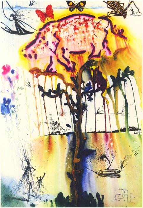alicedali7 - Salvador Dalí's Illustrations for Alice in Wonderland - Lifestyle, Culture and Arts