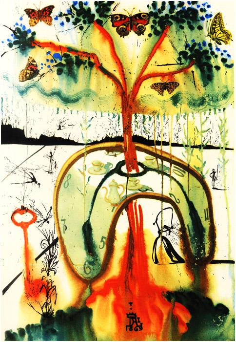 alicedali8 - Salvador Dalí's Illustrations for Alice in Wonderland - Lifestyle, Culture and Arts