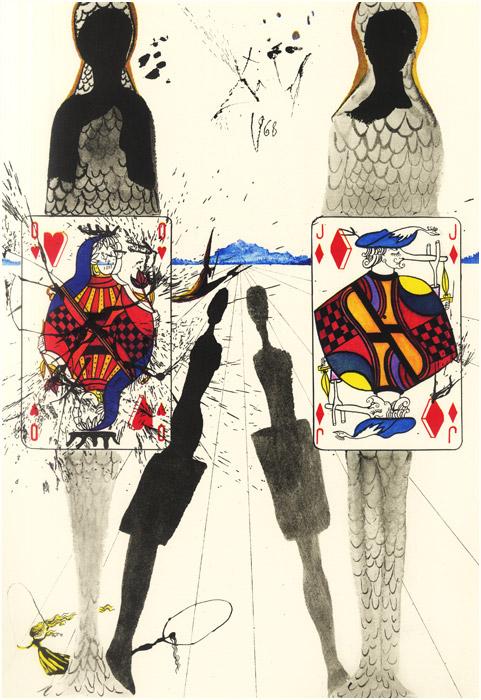 alicedali9 - Salvador Dalí's Illustrations for Alice in Wonderland - Lifestyle, Culture and Arts
