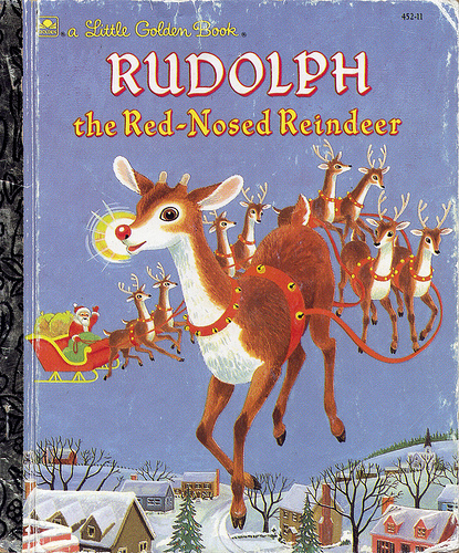 Real Rudolph Flying 19...