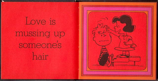 loveiswalkinghandinhand_03 - Love Is Walking Hand In Hand: The Peanuts Gang Defines Love, 1965 - Love Talk