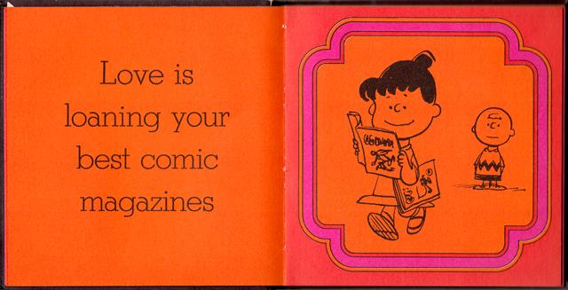 loveiswalkinghandinhand_04 - Love Is Walking Hand In Hand: The Peanuts Gang Defines Love, 1965 - Love Talk