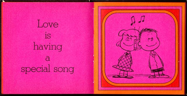 loveiswalkinghandinhand_05 - Love Is Walking Hand In Hand: The Peanuts Gang Defines Love, 1965 - Love Talk