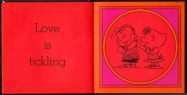 loveiswalkinghandinhand_06 - Love Is Walking Hand In Hand: The Peanuts Gang Defines Love, 1965 - Love Talk