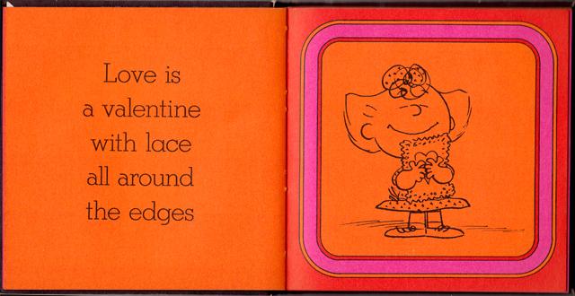 loveiswalkinghandinhand_07 - Love Is Walking Hand In Hand: The Peanuts Gang Defines Love, 1965 - Love Talk