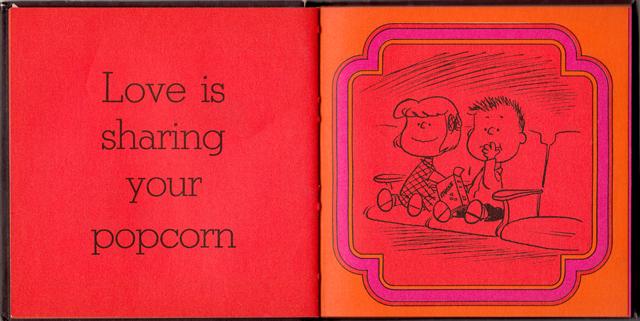 loveiswalkinghandinhand_10 - Love Is Walking Hand In Hand: The Peanuts Gang Defines Love, 1965 - Love Talk