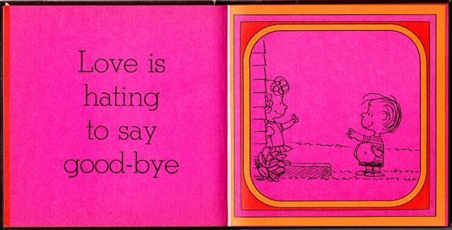 loveiswalkinghandinhand_11 - Love Is Walking Hand In Hand: The Peanuts Gang Defines Love, 1965 - Love Talk