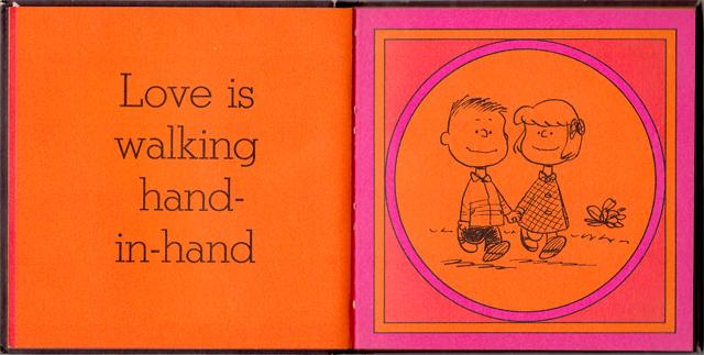 loveiswalkinghandinhand_12 - Love Is Walking Hand In Hand: The Peanuts Gang Defines Love, 1965 - Love Talk