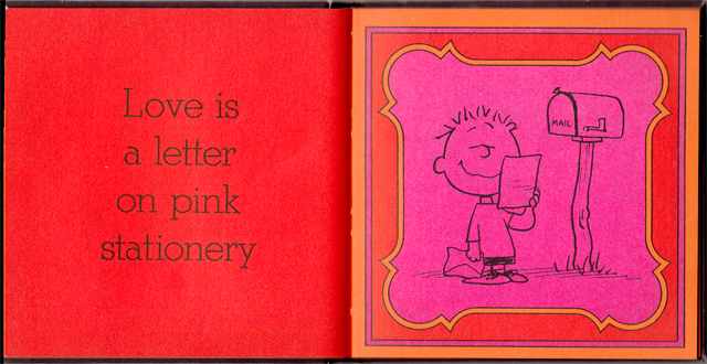 loveiswalkinghandinhand_13 - Love Is Walking Hand In Hand: The Peanuts Gang Defines Love, 1965 - Love Talk