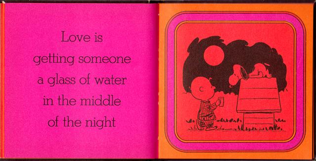 loveiswalkinghandinhand_14 - Love Is Walking Hand In Hand: The Peanuts Gang Defines Love, 1965 - Love Talk