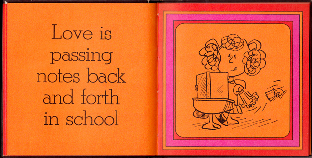 loveiswalkinghandinhand_15 - Love Is Walking Hand In Hand: The Peanuts Gang Defines Love, 1965 - Love Talk