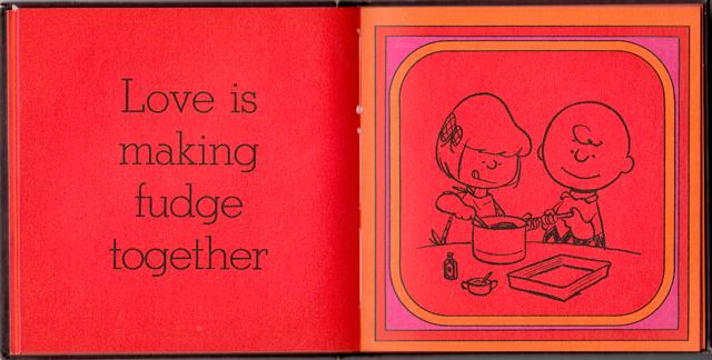 loveiswalkinghandinhand_17 - Love Is Walking Hand In Hand: The Peanuts Gang Defines Love, 1965 - Love Talk