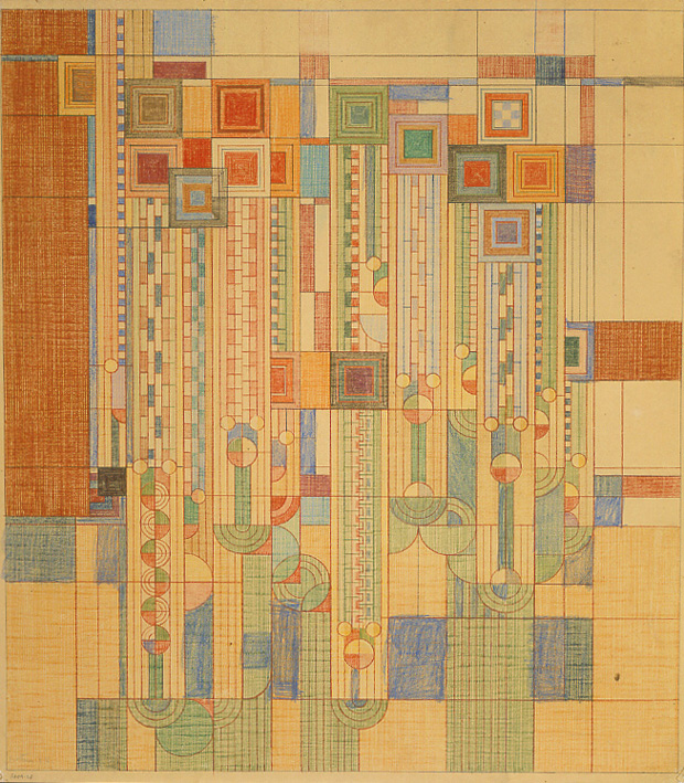 Frank lloyd wright s lesser known contributions to graphic design brain pickings - Frank lloyd wright rugs ...