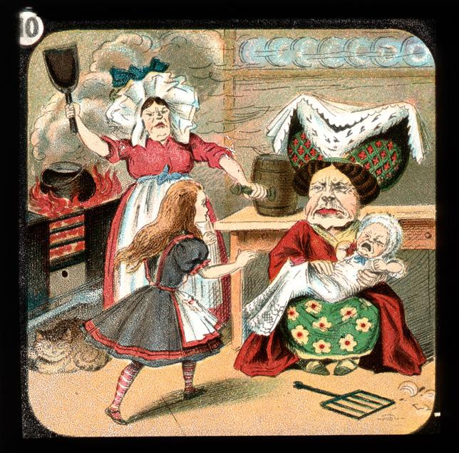 alicelanterns_10 - Alice in Wonderland, in 24 Vintage Magic Lantern Slides - Lifestyle, Culture and Arts