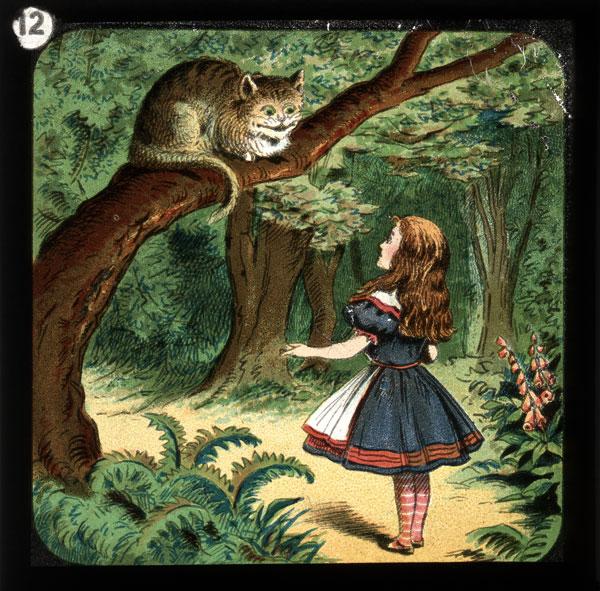 alicelanterns_12 - Alice in Wonderland, in 24 Vintage Magic Lantern Slides - Lifestyle, Culture and Arts