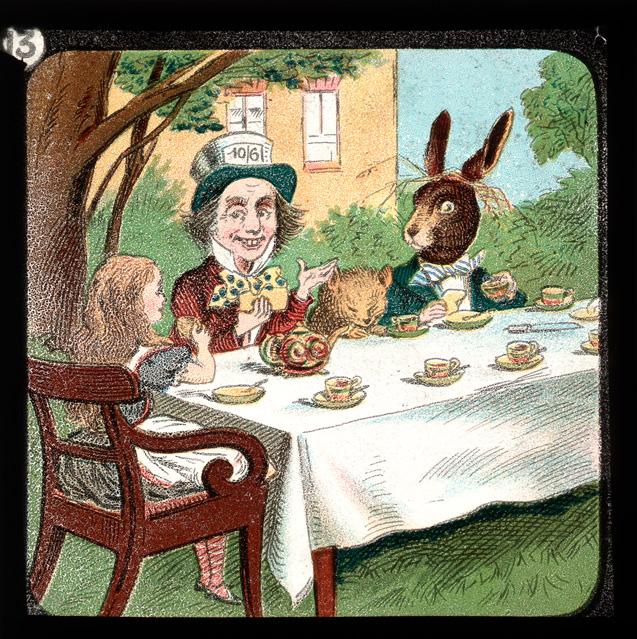 alicelanterns_13 - Alice in Wonderland, in 24 Vintage Magic Lantern Slides - Lifestyle, Culture and Arts