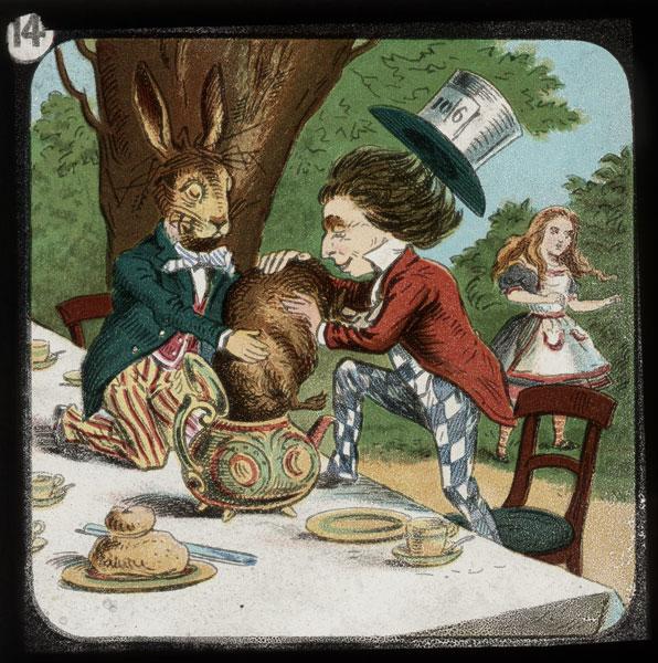 alicelanterns_14 - Alice in Wonderland, in 24 Vintage Magic Lantern Slides - Lifestyle, Culture and Arts