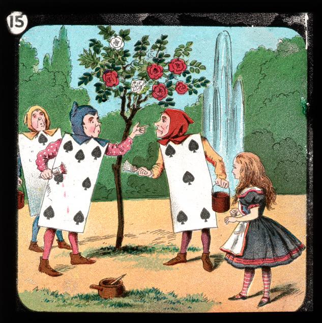 alicelanterns_15 - Alice in Wonderland, in 24 Vintage Magic Lantern Slides - Lifestyle, Culture and Arts