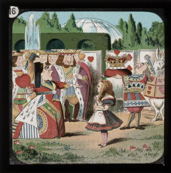alicelanterns_16 - Alice in Wonderland, in 24 Vintage Magic Lantern Slides - Lifestyle, Culture and Arts