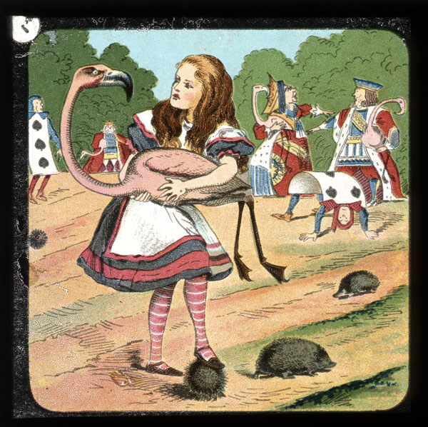 alicelanterns_17 - Alice in Wonderland, in 24 Vintage Magic Lantern Slides - Lifestyle, Culture and Arts