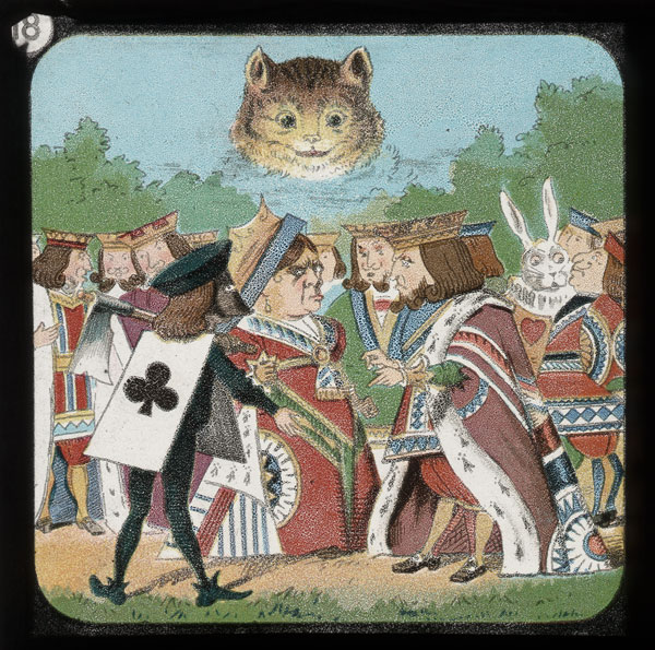 alicelanterns_18 - Alice in Wonderland, in 24 Vintage Magic Lantern Slides - Lifestyle, Culture and Arts