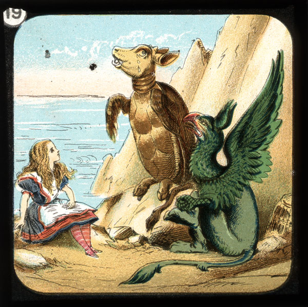 alicelanterns_19 - Alice in Wonderland, in 24 Vintage Magic Lantern Slides - Lifestyle, Culture and Arts