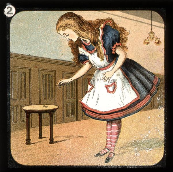 alicelanterns_2 - Alice in Wonderland, in 24 Vintage Magic Lantern Slides - Lifestyle, Culture and Arts