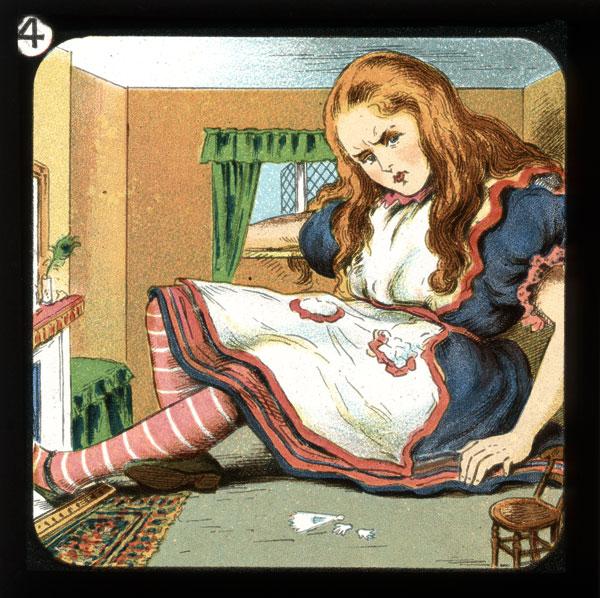alicelanterns_4 - Alice in Wonderland, in 24 Vintage Magic Lantern Slides - Lifestyle, Culture and Arts