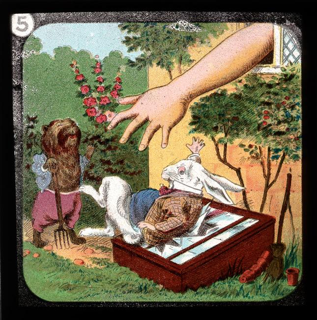 alicelanterns_5 - Alice in Wonderland, in 24 Vintage Magic Lantern Slides - Lifestyle, Culture and Arts