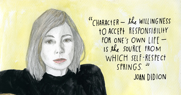 Free Essays On Self Respect Didion