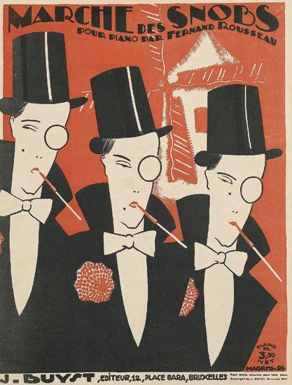 Ren Magritte S Little Known Art Deco Sheet Music Covers