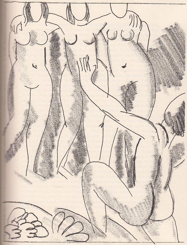 Matisse--Ulysses--ilustration