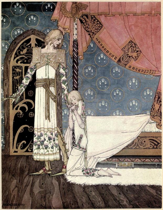 Kay Nielsen S Stunning 1914 Scandinavian Fairy Tale