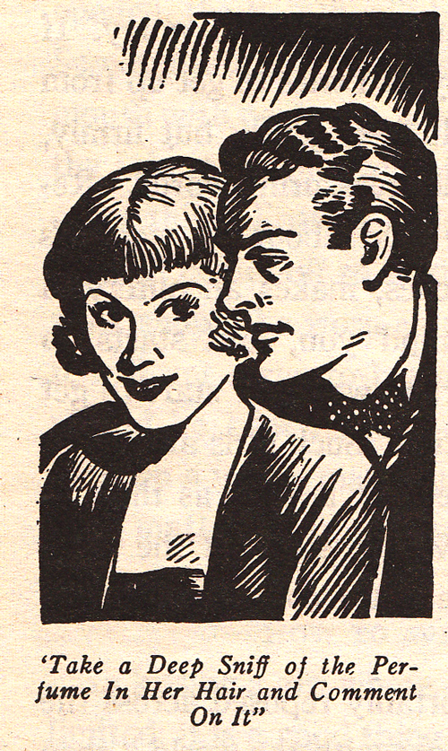 The art of kissing Hugh Morris