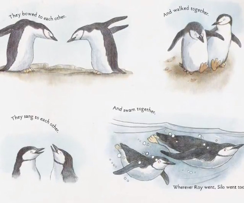 and tango makes three conflicts in this story The heartwarming true story of two penguins who create a nontraditional family is now available in a sturdy board book edition at the penguin house at the central park zoo, two penguins named roy and silo were a little bit different from the others but their desire for a family was the same and with the help of a kindly.