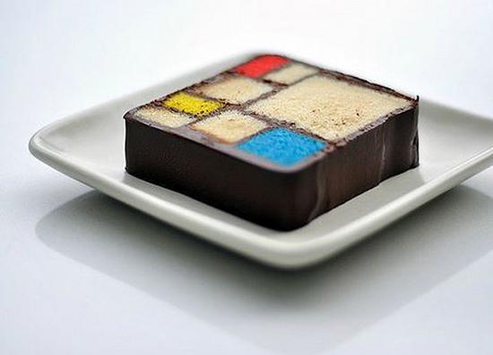 Cake Modern Art : Modern Art Desserts: From Mondrian Cake to Matisse Parfait ...